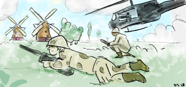 Burgers gedoodt bij aanval door coalitietroepen